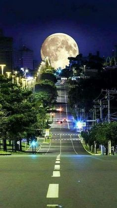 Road to the moon.