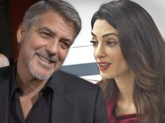 George Amal Clooney Welcome Twins