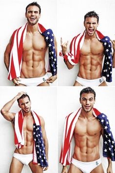 I don't know who this fool is but... Flag Code. Don't drape the flag over yourself, especially in your damn underwear.