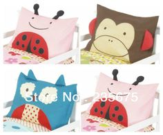 Hot selling 100% Cotton Size 75*45cm Cartoon Baby Pillowcase Cuddly Kids Pillow Cover  Children Animal Pillow Case YM-13089 Cheap Pillows, Kids Pillows, Animal Pillows, Baby Cartoon, Cartoon Characters, Toy Chest, Pillow Covers, Quilts, Toys