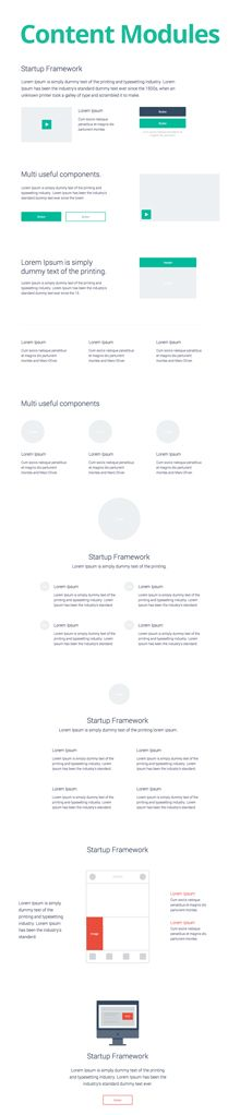 gradient effect on strategy flow chart | Design Resources ...