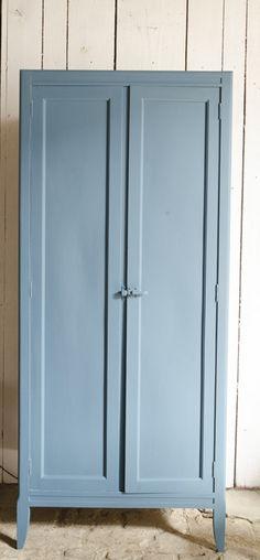 repeindre armoire de L. #Armoirette brocantedelabruyere.com