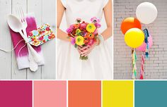 A round up of our most popular wedding colour palettes of 2014 chosen by our rea… – Outdoor Wedding Decorations 2019 Popular Wedding Colors, Summer Wedding Colors, Summer Colors, Wedding Colours, Purple Wedding, Fall Color Palette, Colour Palettes, Wedding Trends, Trendy Wedding