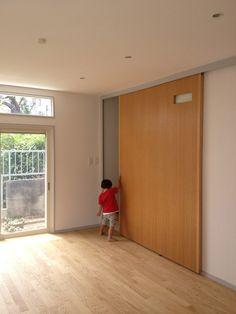 House of mejiro // big slide door