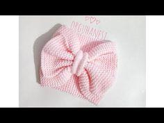 ÖRGÜDEN FİYONKLU BANDANA YAPIMI - YouTube Knitted Headband, Knitted Hats, Viking Tattoo Design, Baby Tutu, Red Silk, Crochet Yarn, Baby Headbands, Clothing Patterns, Baby Knitting