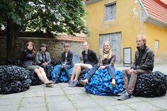 Balric textiles for public spaces