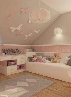 Lieblich Deko Tipp Kinderzimmer Wände Mit Schmetterlingen Selbst Gestalten
