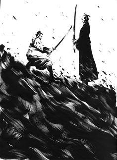 mikael bourgouin - samourai