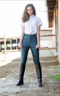 female equestrian outfit