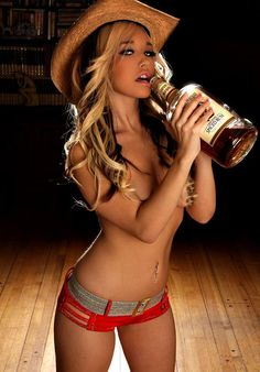 Just your average hard drinking cowgirl