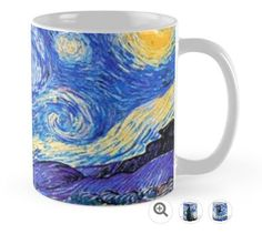  A Starry Night Van Gogh Doctor Who Tardis Products Mugs