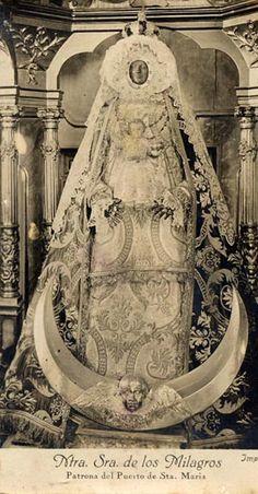 Virgen Negra de los Milagros. Puerto Santamaría