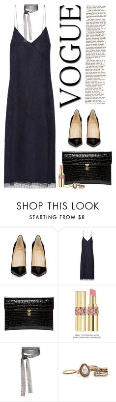 """""""750.💖"""" by harrypotro ❤ liked on Polyvore featuring Christian Louboutin, Jason Wu, Alexander McQueen, Yves Saint Laurent and Fallon"""