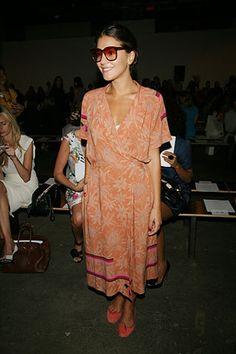 i adore Margherita Missoni's look.