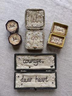 "thesebrokenthreads:  ""Courage, dear heart."" - C S..."