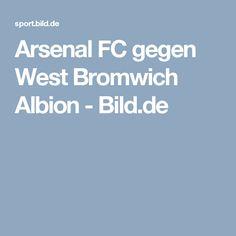 Arsenal FC gegen West Bromwich Albion     -  Bild.de