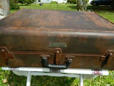Vintage Samsonite Luggage Large Samsonite by 3sisterstreasures