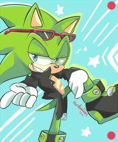 Tags: Anime, Fanart, Sonic the Hedgehog, Scourge the Hedgehog, Fantasiia