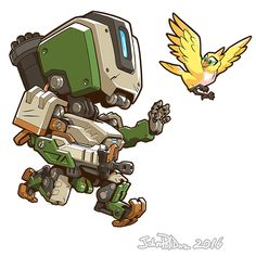 Cute But Deadly Bastion by NorseChowder.deviantart.com on @DeviantArt