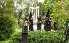 30 August, 2018 - Michelle Freson Szatmarcseke: A Small Village with a Cemetery of Upturned Boats Szatmárcseke Cemetery Hungary, Cemetery, Archaeology, Iowa, Weird, Places To Visit, Carving, Europe, The Incredibles