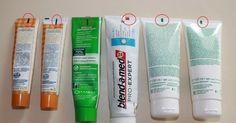 Leia atentamente a embalagem da pasta de dentes