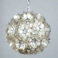 capiz shell chandeliers - Yahoo Image Search Results