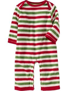 Old Navy | Micro Performance Fleece One-Pieces for Baby