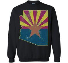 Cool Vintage Distressed Arizona State Outline Flag ShirtFind out more at https://www.itee.shop/products/cool-vintage-distressed-arizona-state-outline-flag-shirt-printed-crewneck-pullover-sweatshirt-8-oz-b01ctbaf8e #tee #tshirt #named tshirt #hobbie tshirts #Cool Vintage Distressed Arizona State Outline Flag Shirt