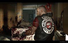 Left 4 Dead, Mongrel, Red Vs Blue, Motorcycle Clubs, Nose Art, Gangsters, New Zealand, Badass, Tank Man