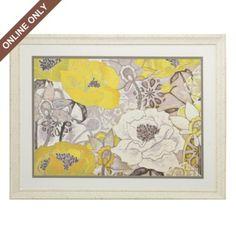 Yellow & Grey print