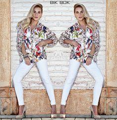 Bik Bok Tropical....Blusa estampada disponível nas lojas. #Summercollection #Verão14