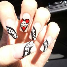 Ed hardy inspired nail art cute nails by other people ed hardy inspired nail art cute nails by other people pinterest art nails makeup and orange nail designs prinsesfo Choice Image