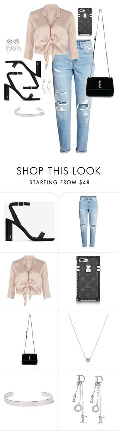 """Untitled #555"" by katiemarte ❤ liked on Polyvore featuring Yves Saint Laurent, River Island, Tiffany & Co., Jennifer Fisher, Christian Dior and ASOS"