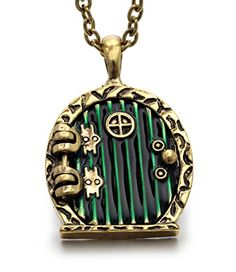 REINDEAR Hobbit Lord of the Rings Locket Shire Movable Do...