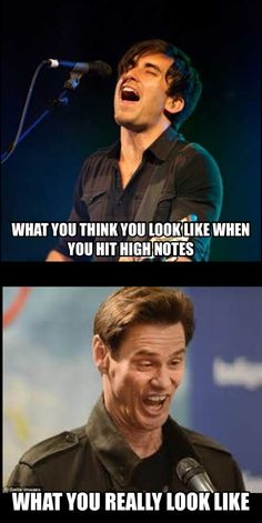 Phil wickham Jim carrey meme #singerstruggles #church #worship #humor #choir
