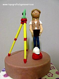 #topografo #topografia #grancanaria #landsurveyor #topographie #geomatica #geomatic Land Surveyors, Themed Cakes, Cake Decorating, Baking, Birthday, Cake Birthday, Pastries, Civil Engineering, Party