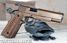Duty-Ready 1911 Pistol Upgrades Lifesaving enhancements so your ACP 1911 pistol can handle the mean streets!-ugh this is beautiful! Tactical Life, Tactical Gear, Weapons Guns, Guns And Ammo, Colt M1911, Revolvers, Rifles, 1911 Pistol, Fire Powers