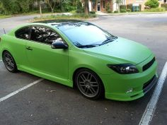I think I want to Plasti Dip my Scion TC something like this, but orange, to test it out. Then if it works, I'll do the Aston Martin LOL!