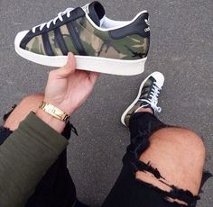 - shoes for men - chaussures pour homme - sneakers - boots - We reveal the news in sneakers for spring summer 2017 Adidas Women Shoes - Sneaker Boots, Zapatillas Casual, Adidas Shoes Women, Adidas Camo Shoes, Gold Adidas, Nike Sneakers, Black Adidas, Cute Shoes, Top Shoes
