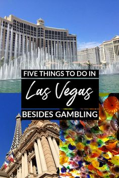 Traveling to Las Vegas for the first time but not a gambler? Here are five things to do in Las Vegas outside the casinos! Canada Travel, Travel Usa, Travel Guides, Travel Tips, Travel Articles, Travel Abroad, Travel Couple, Family Travel, Las Vegas Vacation