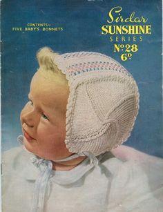 Sirdar Sunshine 28 Vintage Knitting by vintagemadamedefarge, $2.00