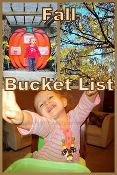 My Bright Firefly: Fall Kids Activities: Our Bucket List