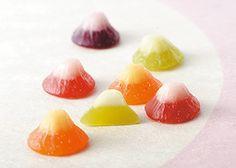 Tiny Fuji fruity jelly
