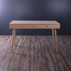 Skrivebord med skuffer/ Made in Denmark /Kvalitet og flot design - Køb her Entryway Bench, Denmark, Chicago, Inspiration, Furniture, Design, Home Decor, Products, Lily