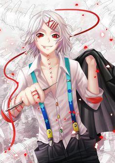 Suzuya (The most fantastic character of Tokyo Ghoul in my opinion) Tokyo Ghoul Uta, Tokyo Ghoul Fan Art, Anime In, Kawaii Anime, Anime Guys, Manga Anime, Animes Yandere, Fanarts Anime, Anime Characters