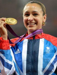 Jessica Ennis wins Gold