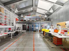Um escritório bonito e funcional -