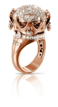Rosamaria G Frangini | High Classic Jewellery | Sissi ring by Pasquale Bruni