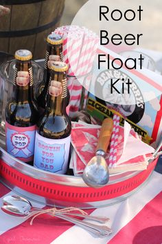 Root Beer Float Kit for Father's Day by @Stef (Girl. Inspired.)