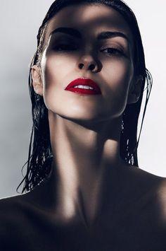 Priscila Kardel in the Shadows for Prestige Magazine by Piotr Stoklosa